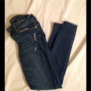 Aeropostale Jeans - Junior's sz 0 AEROPOSTALE distressed skinny jeans